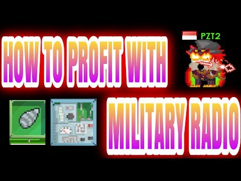 Growtopia - How to profit with Military Radio