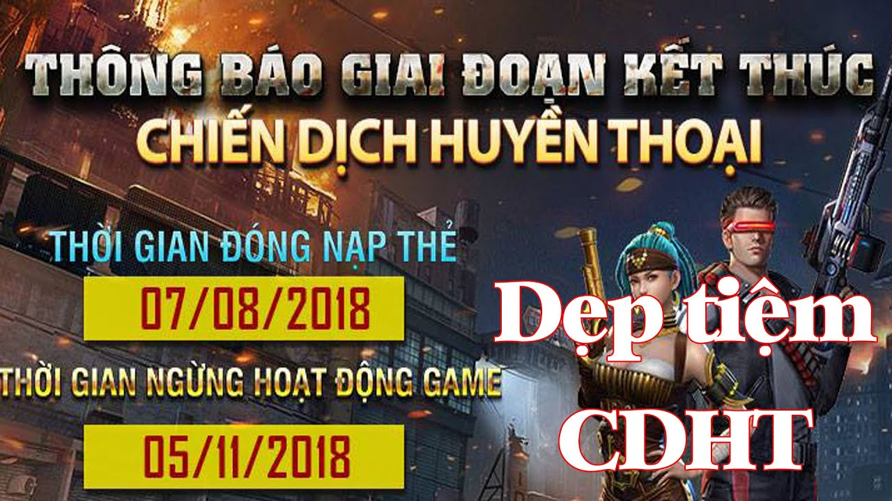 Thông báo Chiến Dịch Huyền Thoại Việt Nam chính thức dẹp tiệm