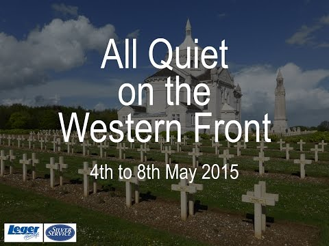 All Quiet of the Western Front - battlefield tour 2015