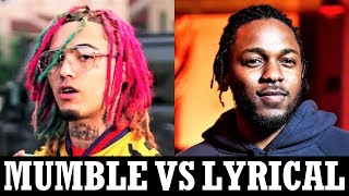 Mumble Rappers Vs. Lyrical Rappers [Style Comparison]