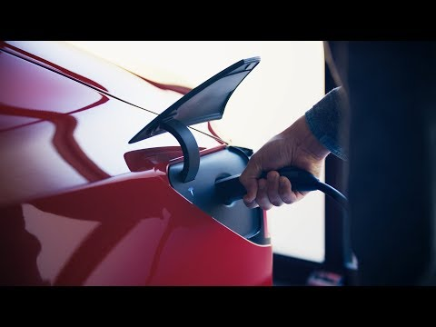 Tesla Debuts a Portable Plug-In EV Charger for Its Electric Cars