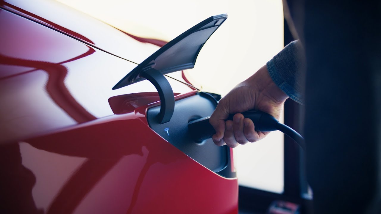 Tesla Debuts a Portable Plug-In EV Charger for Its Electric