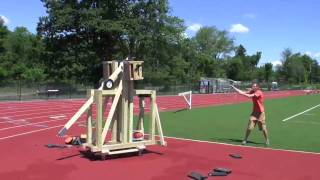 Fat Trebuchet Test Fire Day