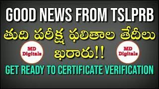 Good News from tslprb department