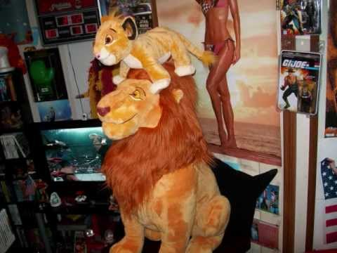 The Lion King 2011 Disney Store Plush Collection!