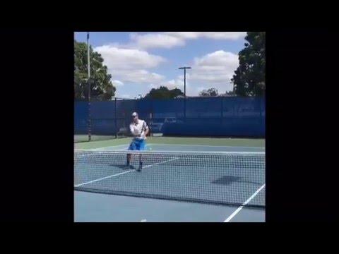 Bruno Figlia College Tennis (Recruitment Video)
