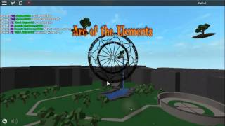 Roblox Arc Of the elements How To spin rare arc