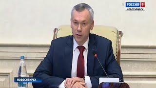 Андрей Травников потребовал прекратить «стенопад» в школах Новосибирской области
