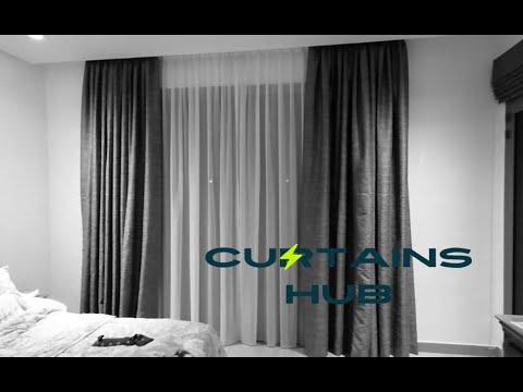 Curtains-Vertical & Roman Blinds-The Acres-Yas Island-Abu Dhabi