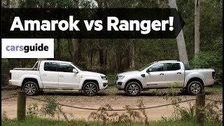 Volkswagen Amarok V6 580 vs Ford Ranger Wildtrak Bi-Turbo