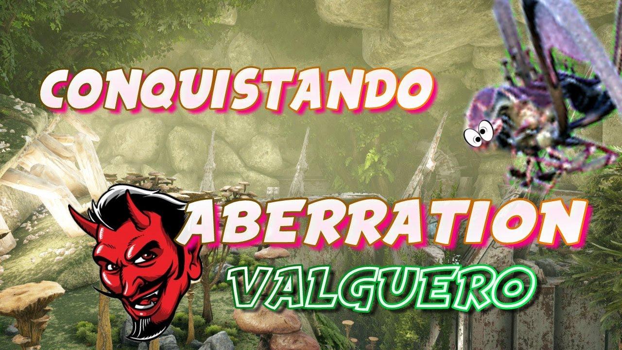 CONQUISTANDO el ABERRATION de VALGUERO! |Raideos y PvP| (Neca Ark Server)