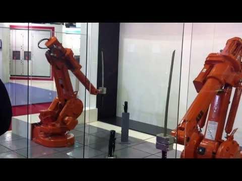 ABB Robots Katana Fight