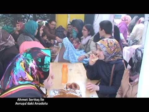 4 Mayıs Avrupa'daki Anadolu Mescid-i Selam camii Kermes Blm 2