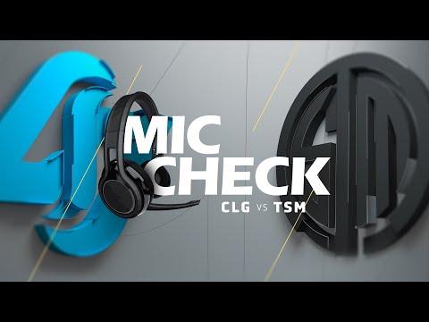 Mic Check: CLG vs TSM (2019 LCS Summer Week 5)