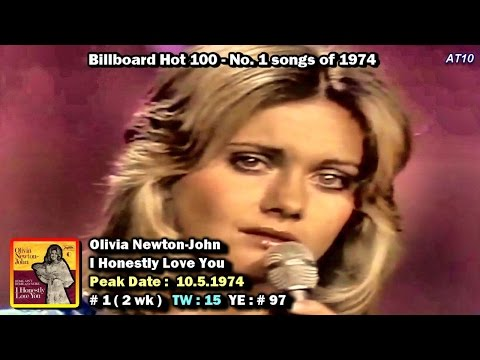 Billboard Hot 100 - No. 1 Songs of 1974  [1080p HD]