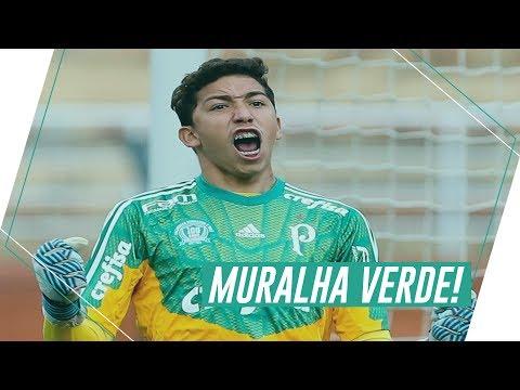 Com golaço e defesa de pênalti no último lance, Palmeiras é campeão sub-17