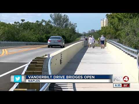 Collier County officials hold ribbon cutting ceremony for two new bridges