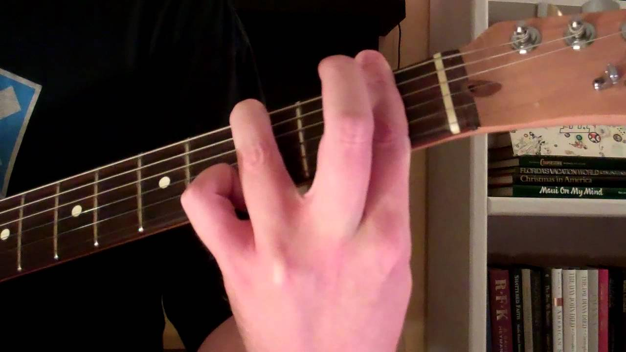 How To Play The F7 Chord On Guitar Youtube