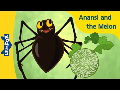 Anansi and the Melon | Folktales | Stories for Kids | Bedtime Stories