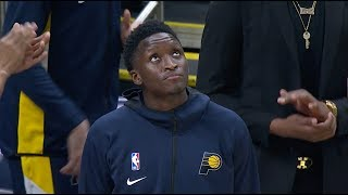 Victor Oladipo Gets Standing Ovation From Pacers Fans In Return And Indiana Honors Kobe Bryant