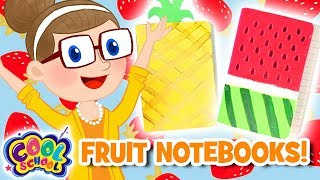 Mini Fruit Notebooks!
