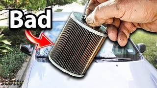 heres what happens if you dont change the fuel filter in your car