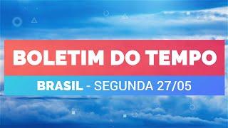 Previsão Brasil - Muita chuva na Região Sul