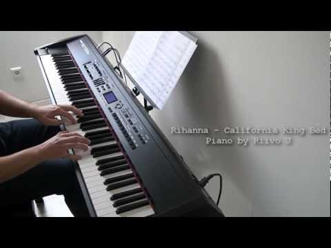 Rihanna - California King Bed (Piano Cover)