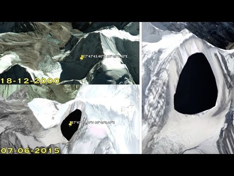 Secret Entrance Underground Base Found with Google Earth in Nepal (Himalaya Mountains) - FindingUFO