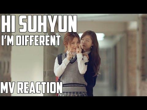 Hi Suhyun(하이수현) - I'm Different(나는 달라) | MV Reaction