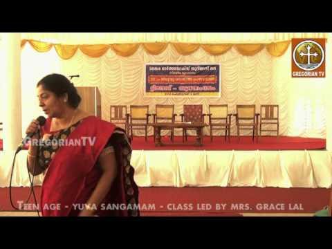 Teenage Yuvasangamam class by Mrs. Grace Lal