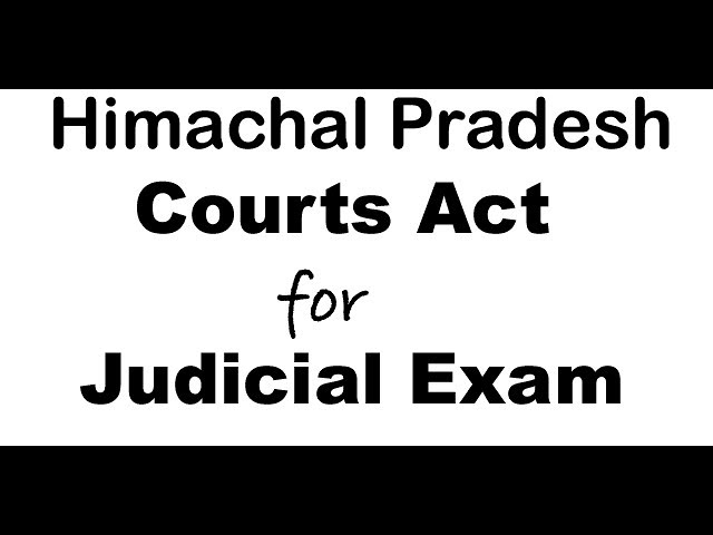 HP Courts  Act clip of class at Delhi Coaching by D k Dubey Sir   HD 720p