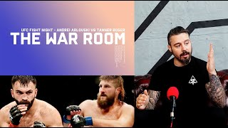 ANDREI ARLOVSKI VS TANNER BOSER - THE WAR ROOM, DAN HARDY BREAKDOWN EP. 73