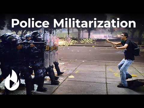 History Of Police Militarization With Prof Abby Hall