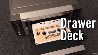Old Cassettes Plus the DENON Deck With a Drawer!