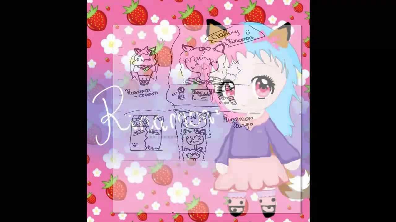 Paper pastels mascot contest entry- Rinamon :3