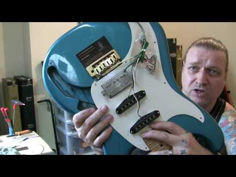 Ibanez Blazer Series HSS Strat. Dumpster find / set-up...