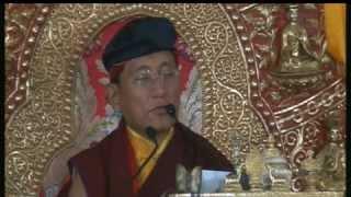 2012-03-02 morning - GuruYoga teaching by HH Gyalwang Drukpa & Mandala offering