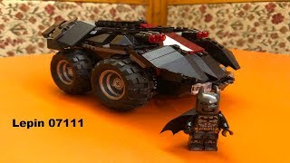 Lepin 07111 Batmobile Unboxing, Aufbau und Fazit (Deutsch)