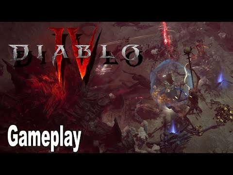 Diablo IV - Gameplay Demo 2021 No Commentary [HD 1080P]