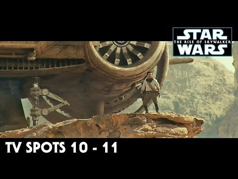 Star Wars The Rise of Skywalker TV Spot Trailers 10 - 11