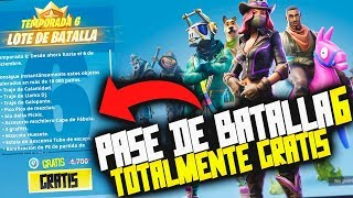 HOW TO GET BATTLE PASS 6 TOTALMETE FREE!!! *FOR ALL CONSOLES AND PCs* FORTNITE