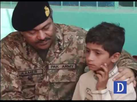 Commander Southern Command visits slain Cameraman's family