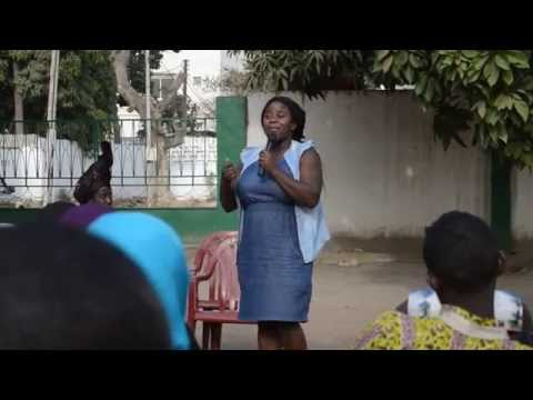 Invigningen av The African Poetry Library i Gambia 2015