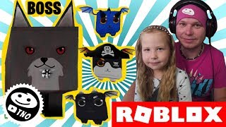MEGA FOX BOSS + code to the game-[BOSSES] Dragon Simulator | Roblox | Daddy and Yohana CZ/SK