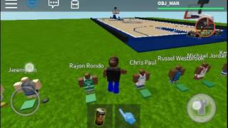 Grinding on 2K *ROBLOX*