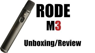 Rode M3 Unboxing & Review | Ger | HD