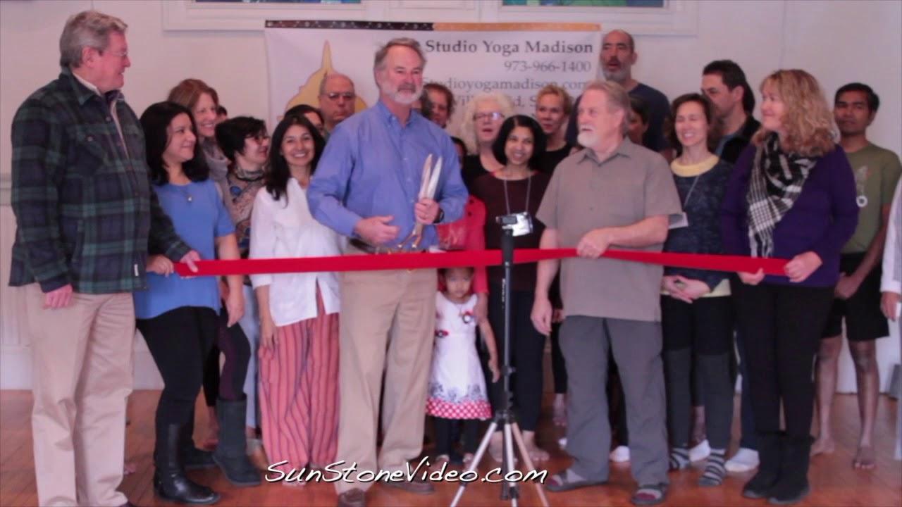 MAYOR ROBERT CONLEY at Studio Yoga Madison