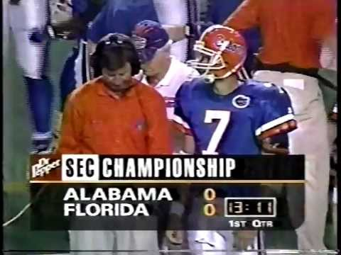 #4 Florida vs #11 Alabama - 1996 SEC Championship Game