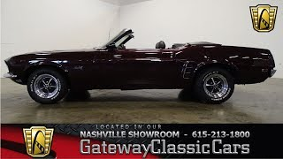 1969 Ford Mustang, Gateway classic cars Nashville,#824